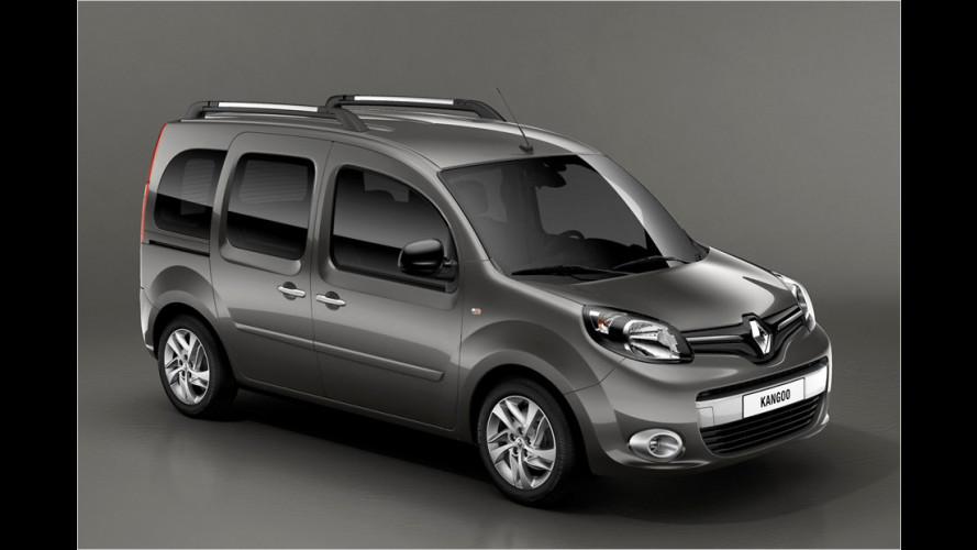 Renault Kangoo erhält ein Facelift (2013)