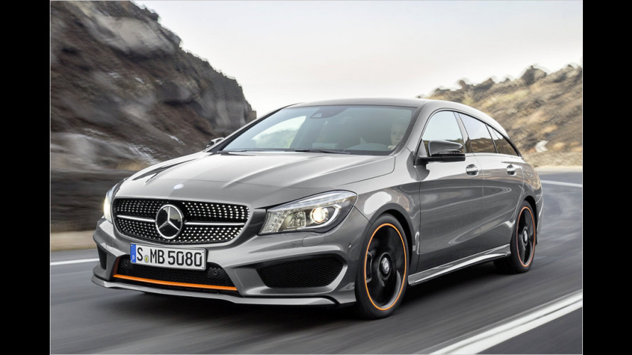 Mercedes CLA Shooting Brake startet im März 2015