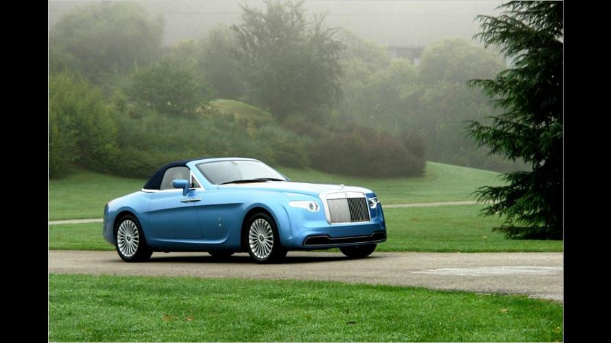 Luxus-Karosse im Retro-Stil