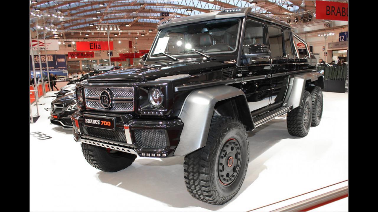Brabus Mercedes G 63 6x6