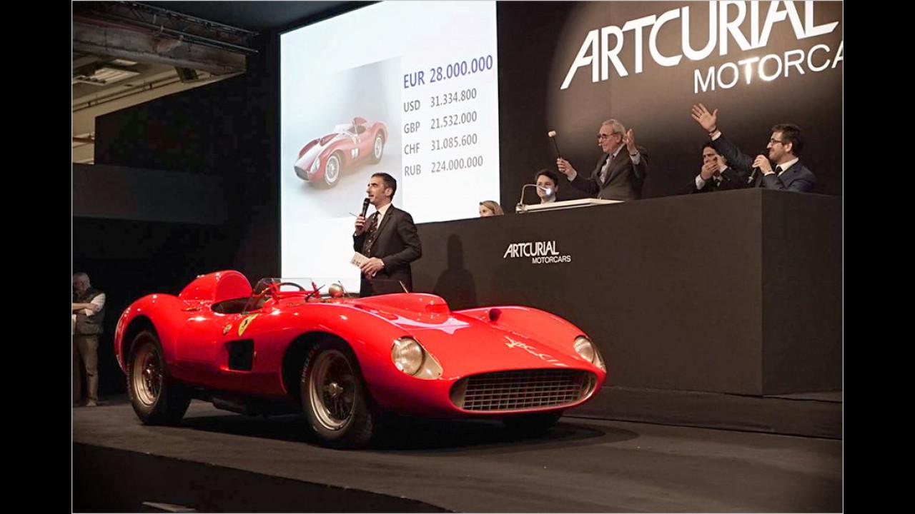 Ferrari 335 S Spider Scaglietti Das Teuerste Auto Der Welt