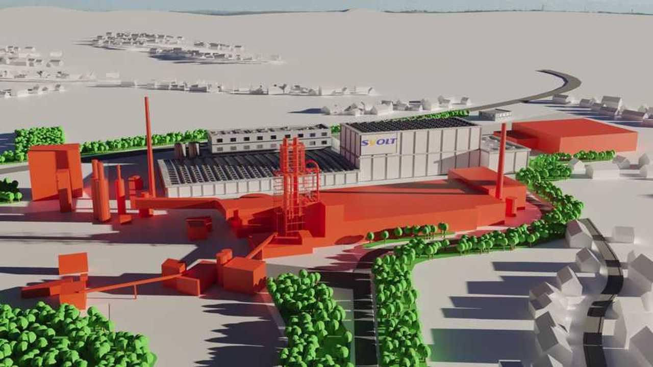 Svolt-Batteriezellfabrik: So soll das Zellwerk im Saarland einmal aussehen