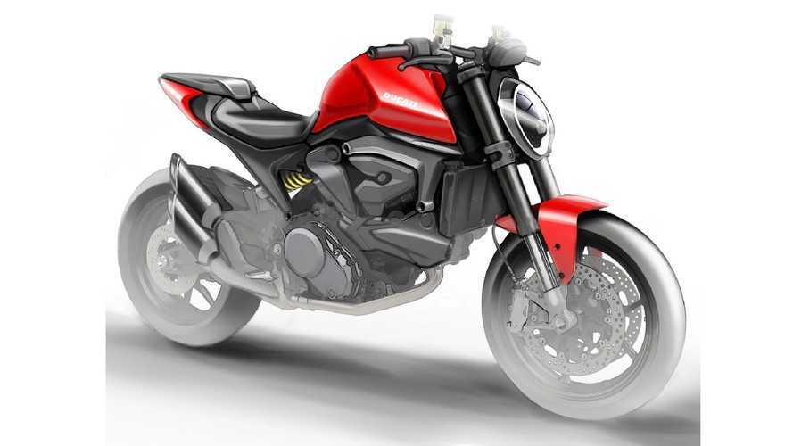 Ducati Monster 821: il render rubato conferma l'addio al traliccio