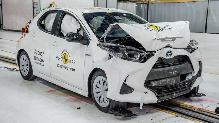 La Toyota Yaris décroche la note maximale au crash-test Euro NCAP