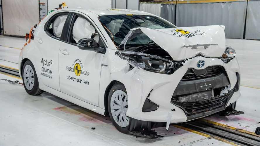 Essai de collision Toyota Yaris 2020