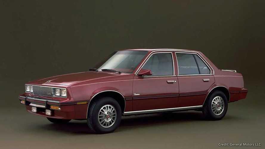 Cadillac Cimarron (1982-1988)