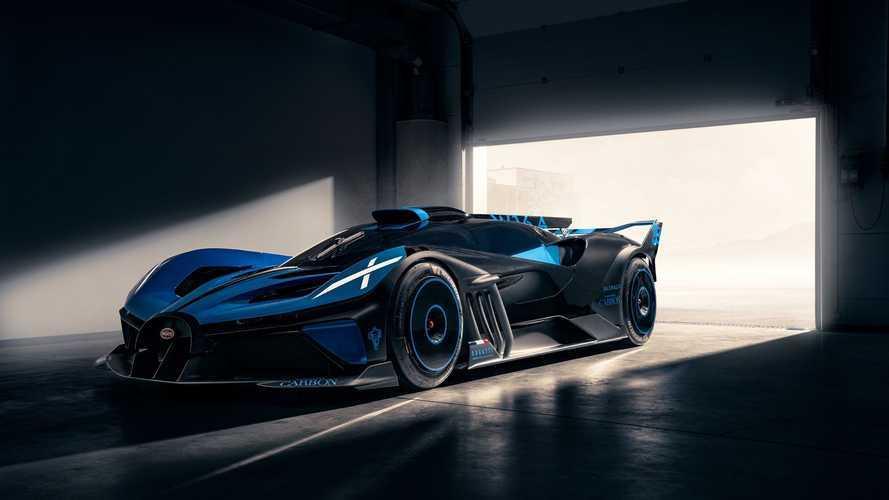 Découvrez la Bugatti Bolide à travers de nouvelles images