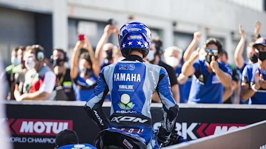 2021 Yamaha R3 bLU cRU European Cup