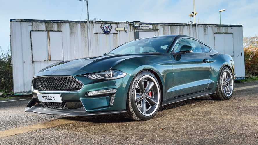 First UK Steeda Steve McQueen Limited Edition Bullitt Mustang delivered