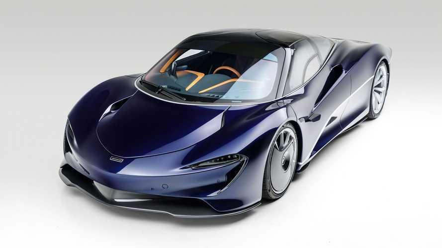 RM Sotheby's : une première McLaren Speedtail aux enchères