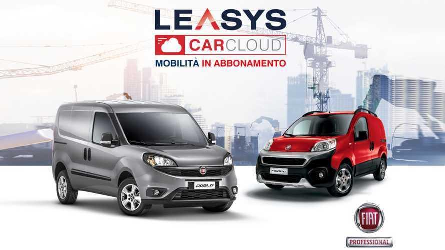 Leasys CarCloud Pro, anche il furgone è in abbonamento