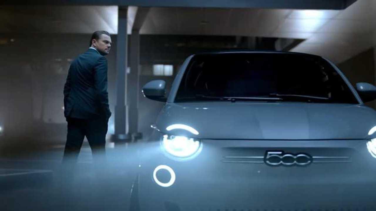 Leonardo DiCaprio, testimonial della nuova Fiat 500 elettrica