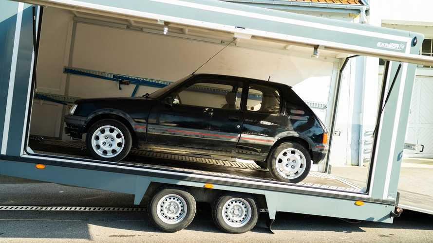 Peugeot 205 GTi, restauración del Museo L'Aventure Peugeot