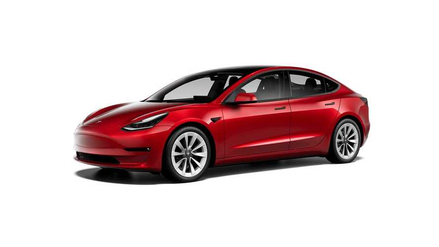 Tesla Model 3 19'' Sport Wheels (design studio U.S. - October 2020)