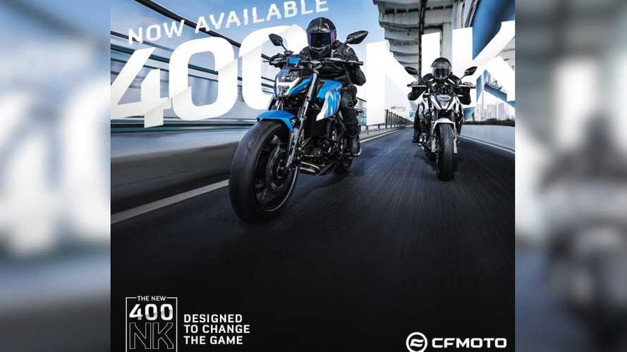 2020 CFMoto 400NK Launched In The Philippines