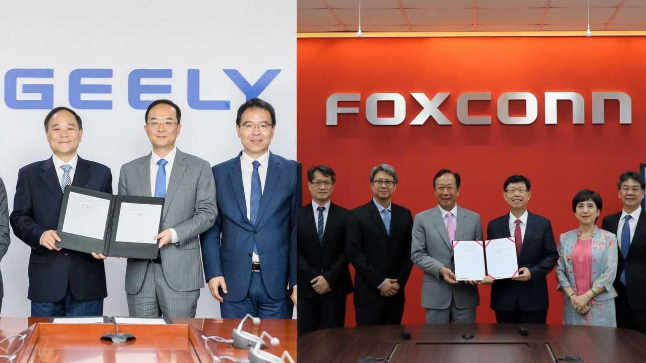 Geely e Foxconn