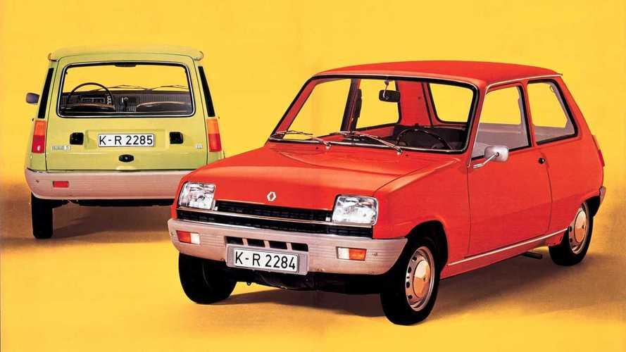 Renault 5, le foto storiche