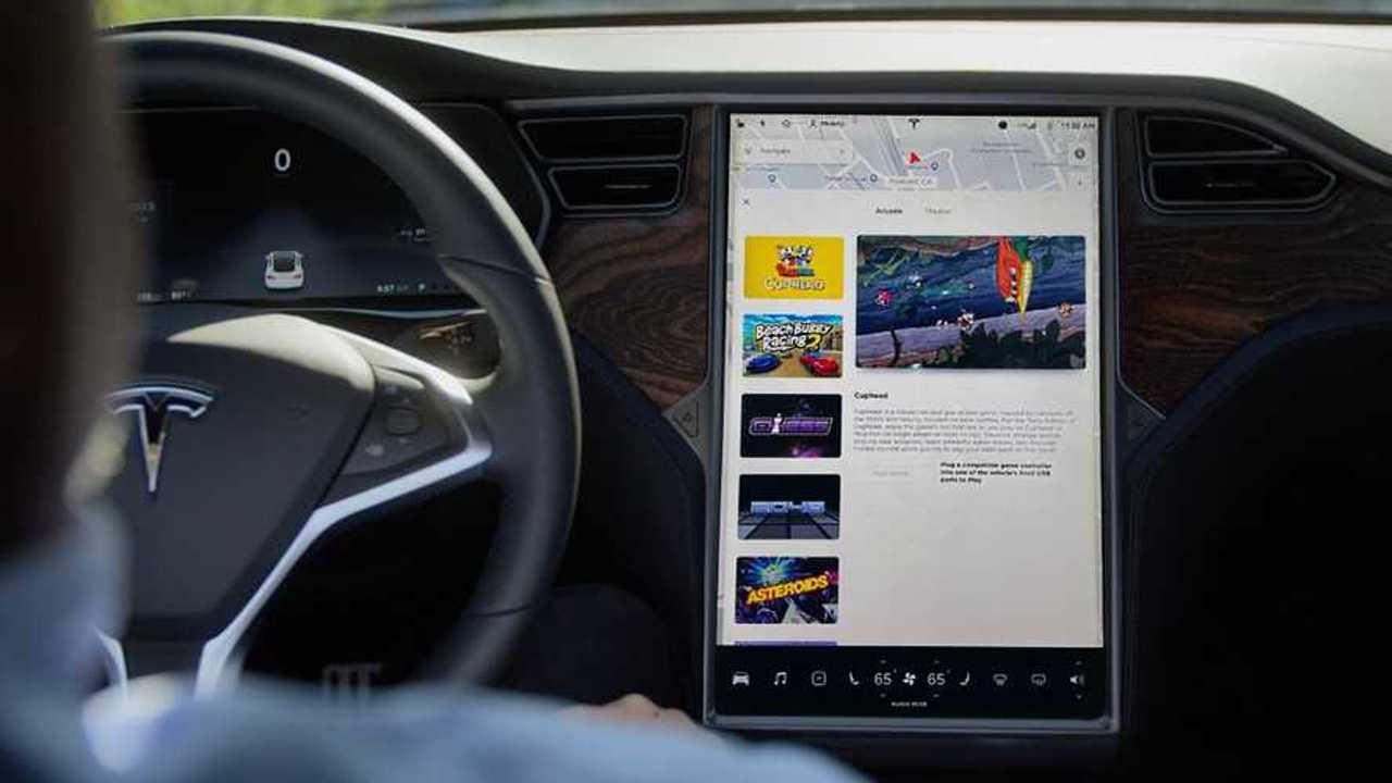Tesla Model X MCU infotainment