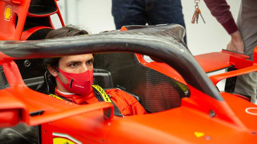 Sainz recalls first Ferrari contact: 'I tried not to believe it'