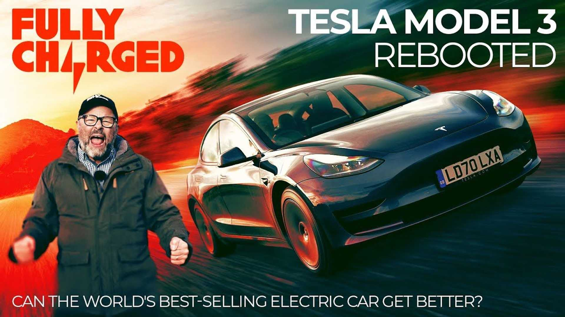 Fully Charged checks out the 2021 Tesla Model 3 Standard ...