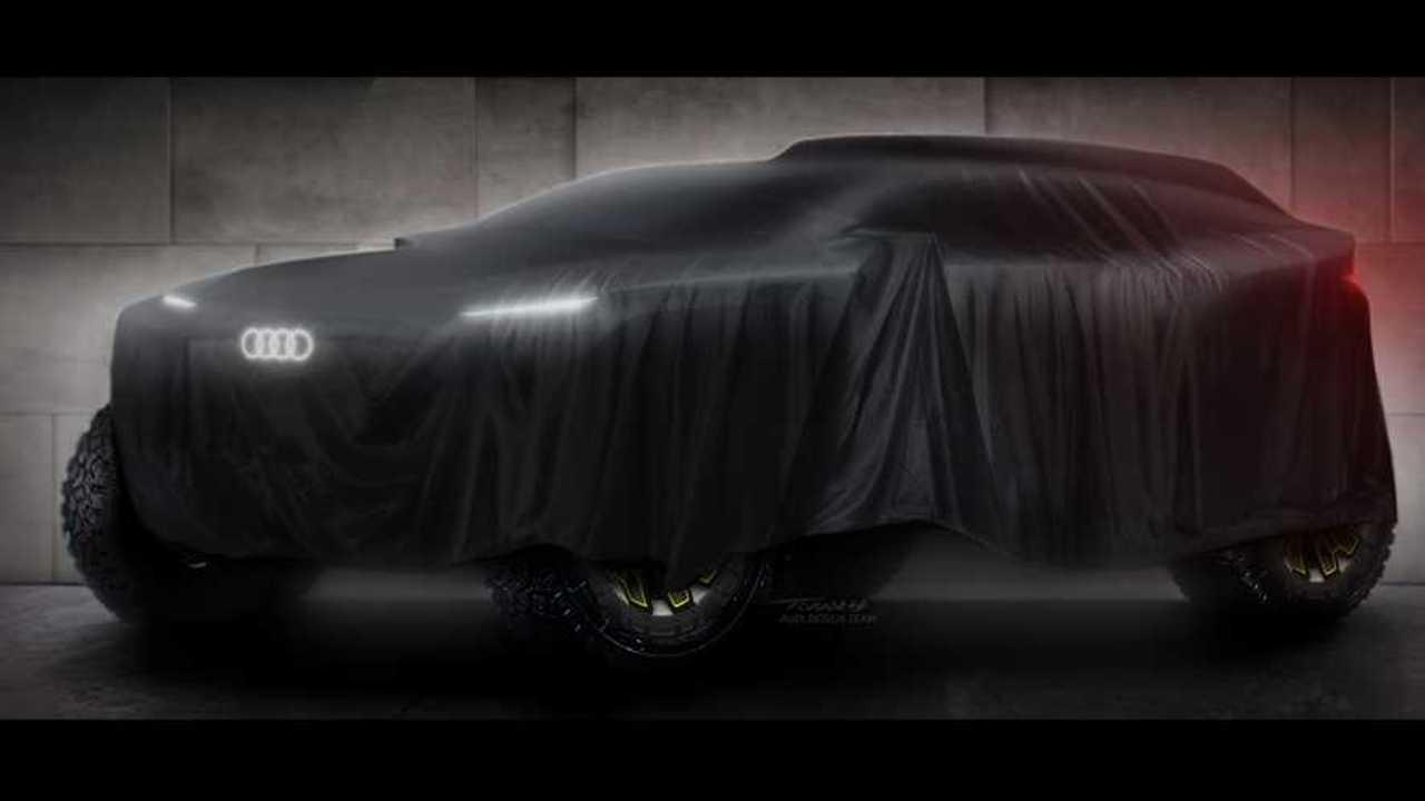 Audi Rallye Dakar 2022 Teaser