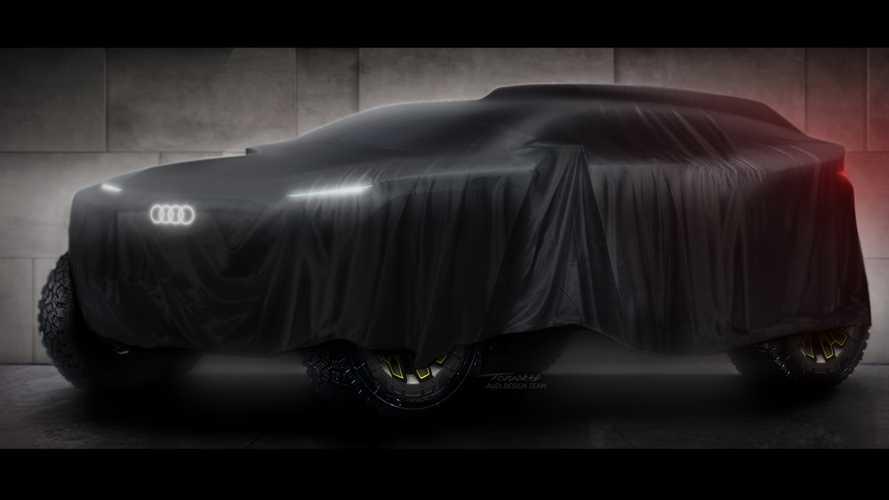 Audi zeigt Prototyp für die Rallye Dakar 2022