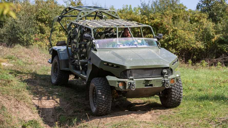 GM Defense Chevy Colorado Infantry Squad Vehicle