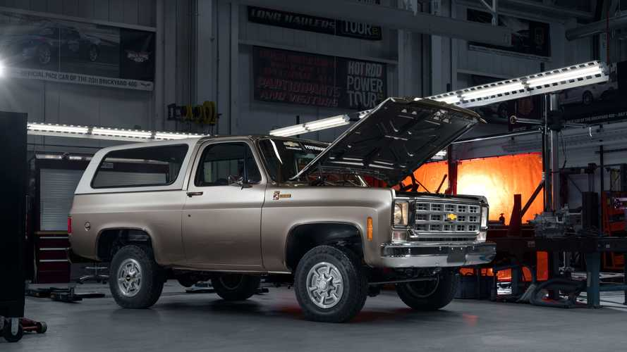 Chevrolet Blazer 1977 elétrico