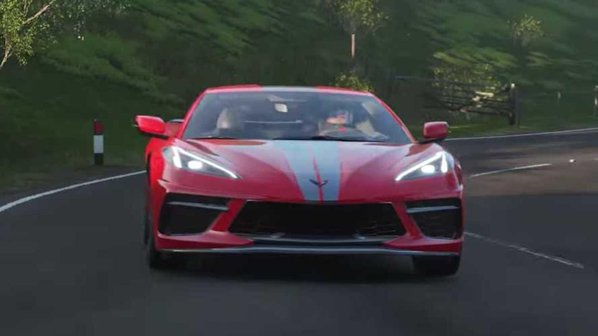 Chevy Corvette C8 появится в Forza Horizon 4 14 января