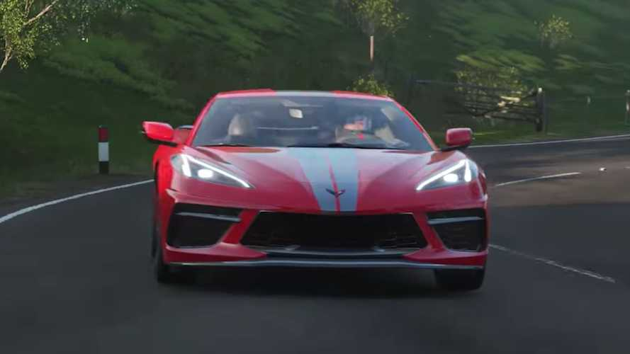 Chevy Corvette C8 coming to Forza Horizon 4 on 14 January