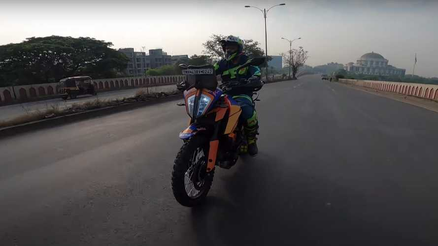 Dude Customized His KTM 390 Adventure To Be More Off-Road Capable