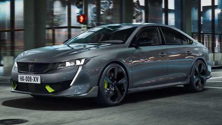 2021 Peugeot 508 PSE Sedan