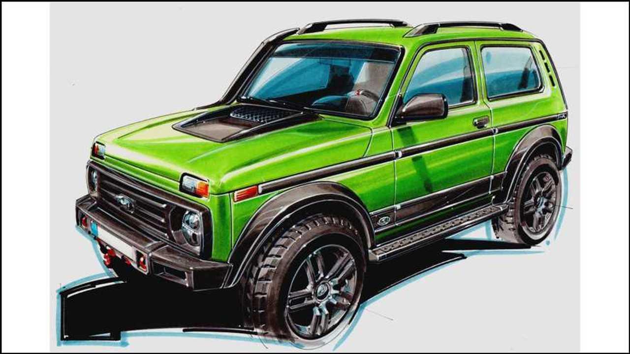 Lada Niva 50th Anniversary Limited Edition