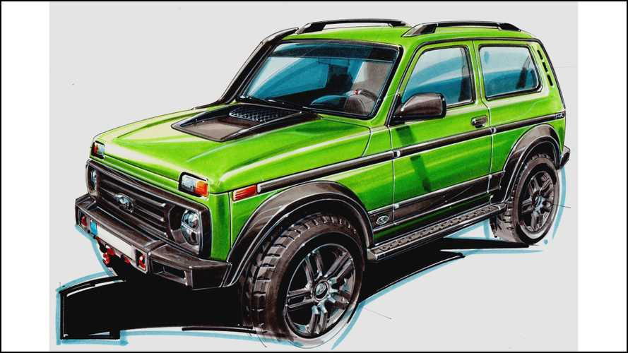 German company creates limited-run Lada Niva, Russians can't buy it