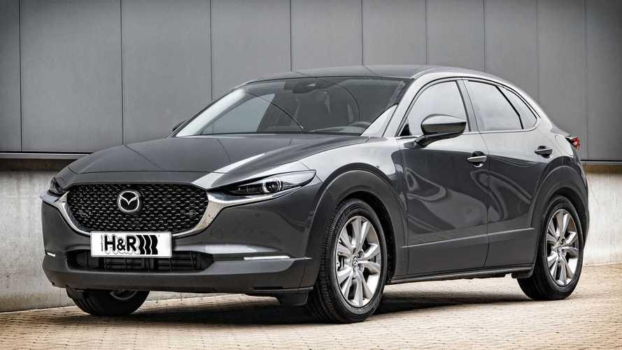 H&R Sportfedern für den neuen Mazda CX-30
