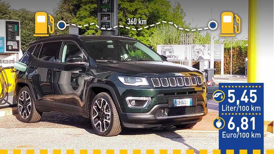 Tatsächlicher Verbrauch: Jeep Compass 1.3 T-GDI mit 150 PS im Test