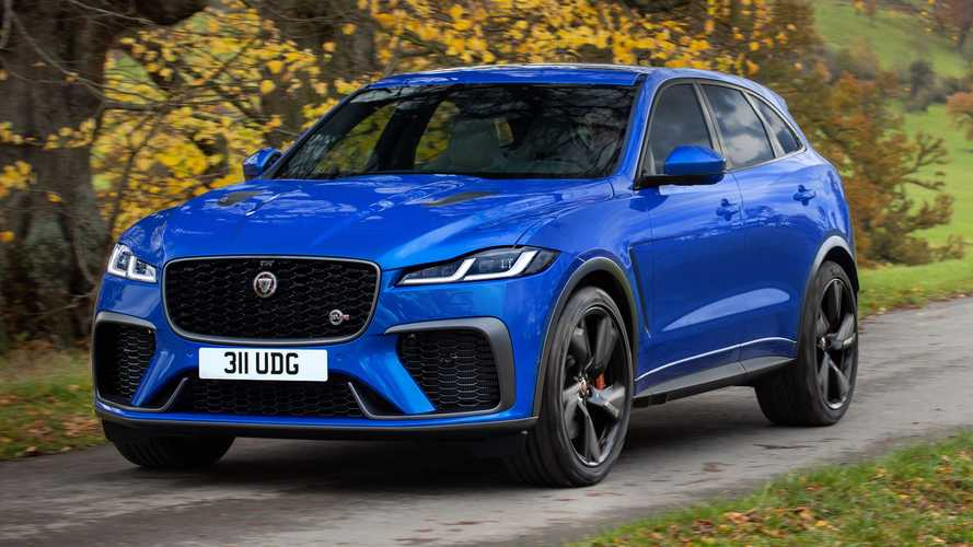 2021 Jaguar F-Pace SVR Debuts With Better Acceleration, Higher Top Speed