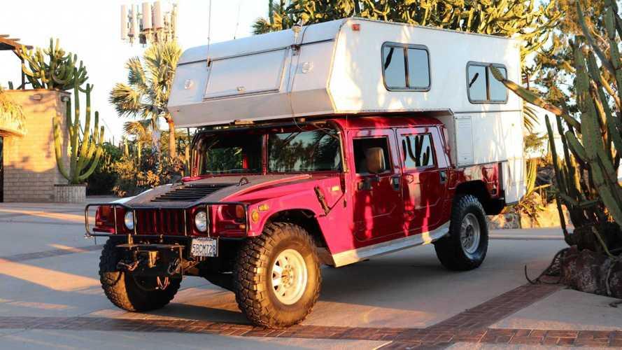 Ce Hummer H1 transformé en camping car de l'extrême est à vendre