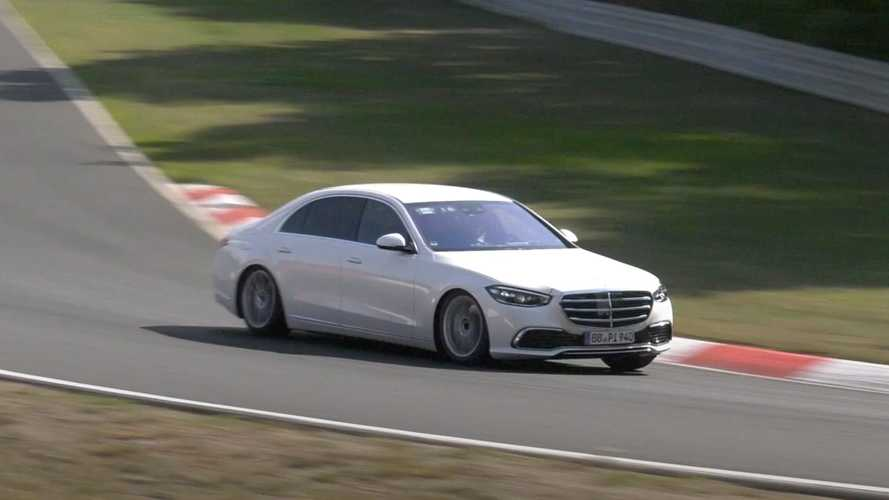2021 Mercedes S-Class looks classy with no camo at the Nurburgring