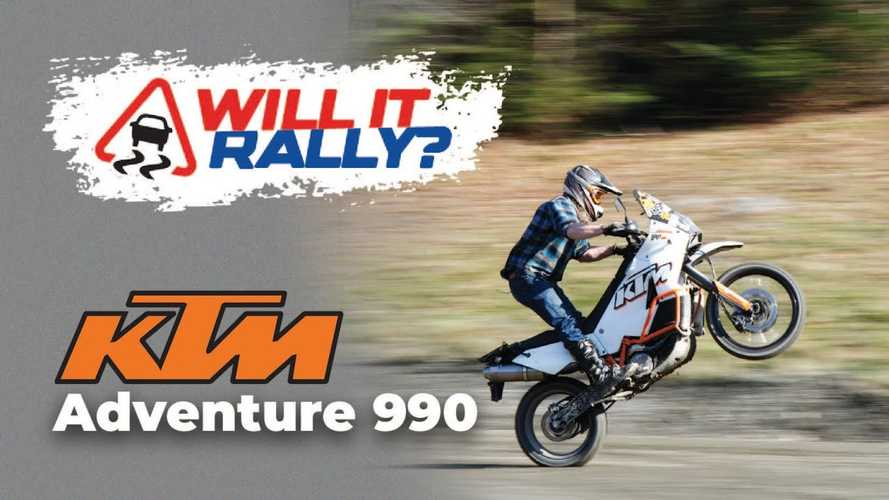Yes, The KTM 990 Adventure Will Rally