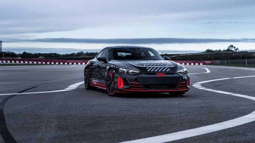 Audi e-tron GT: la dinamica di guida