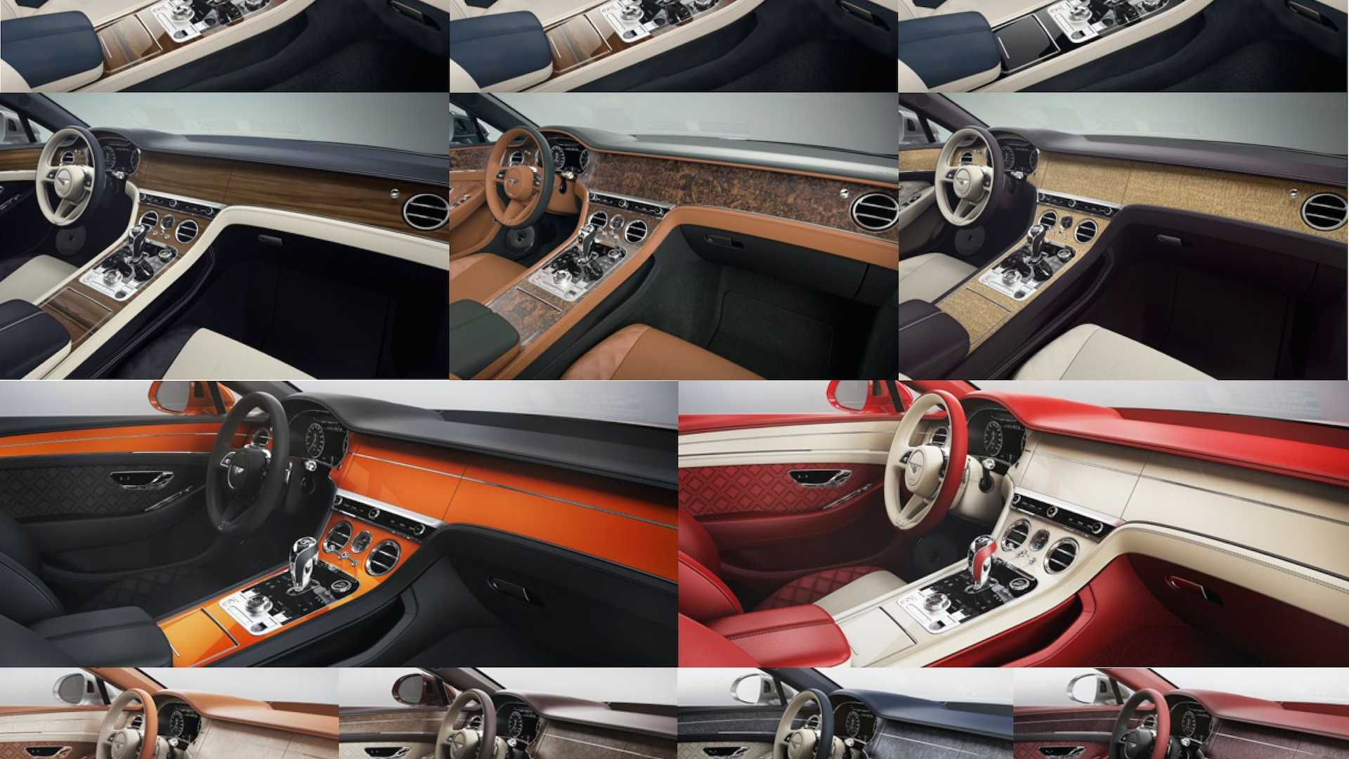 Bentley Has More Than 5 000 Options Just For The Interior