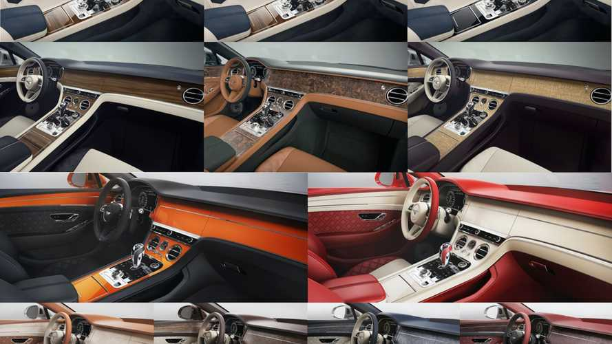 Bentley Has More Than 5,000 Options Just For The Interior