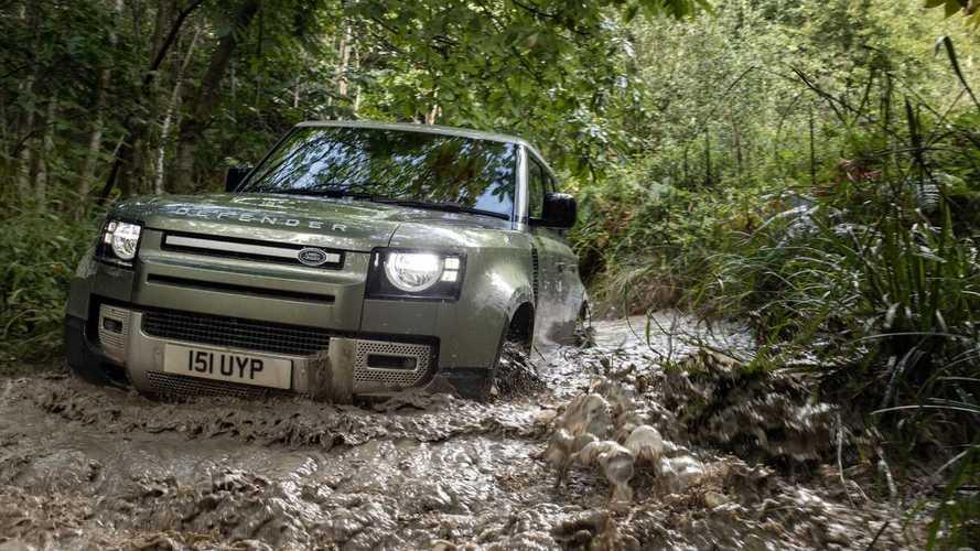 Prueba Land Rover Defender P400e PHEV: robusto y silencioso