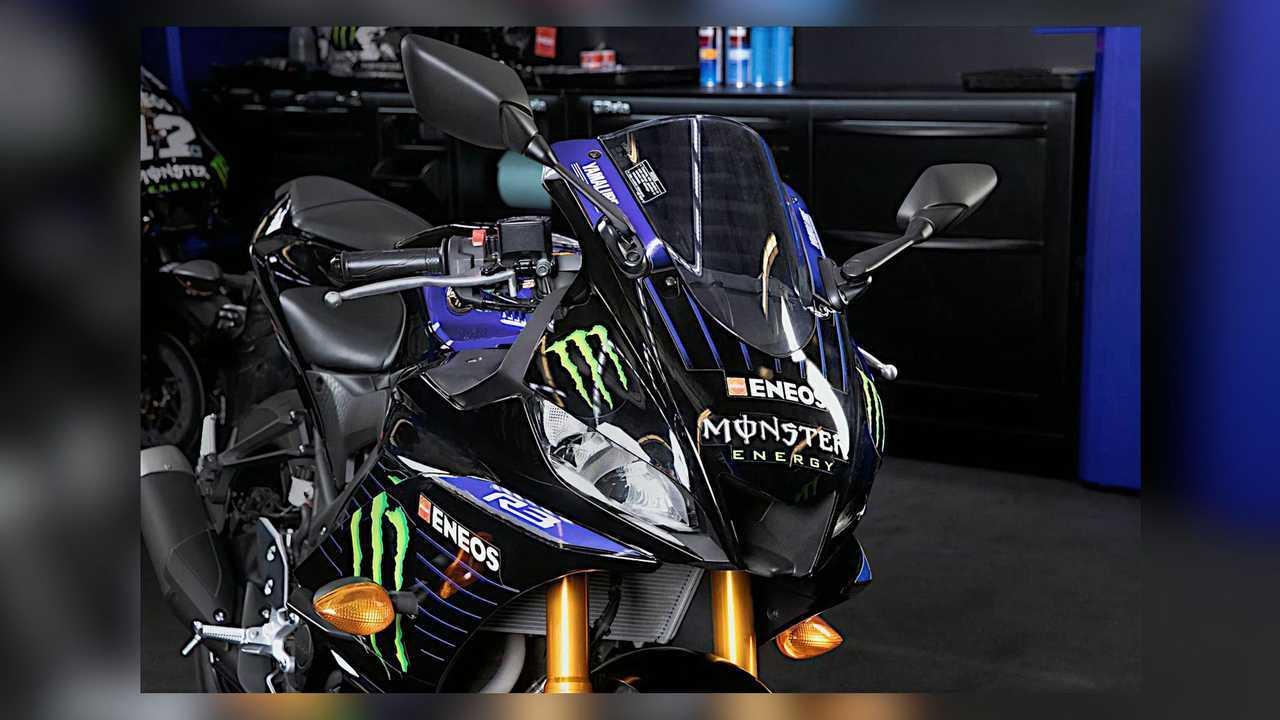 2021 Yamaha YZF-R3 Monster Energy MotoGP Edition Front ...