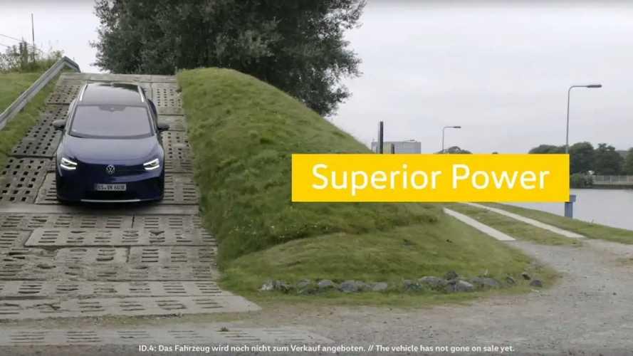 Volkswagen ID.4'ün Hafif Kamuflajlı Bir Prototipi