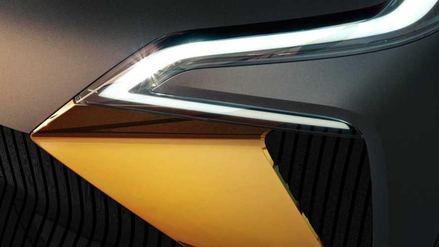 Renault показала кусочек нового электрокроссовера