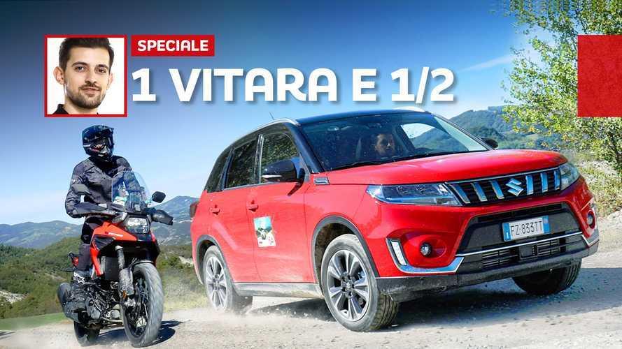 Suzuki Vitara 4X4 e V-Strom 1050 XT, All-Terrain a 6 ruote