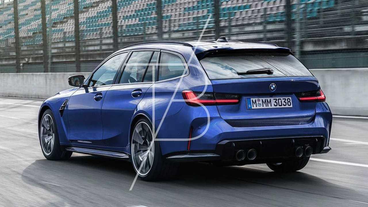 BMW M3 Touring renderelés