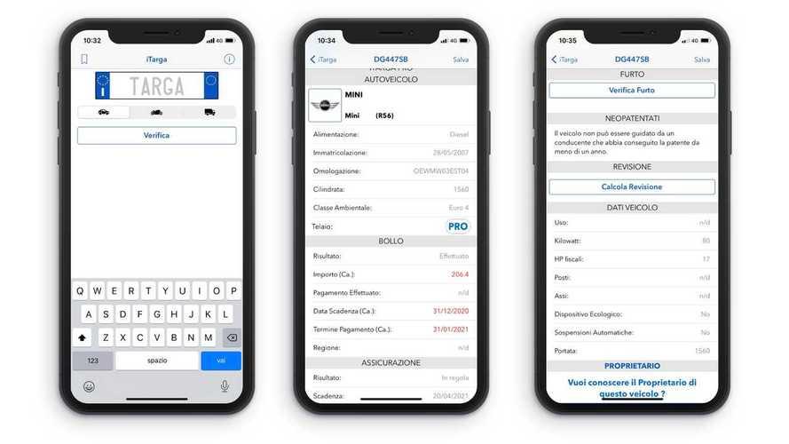 Le app per controllare bollo auto, assicurazione e revisione